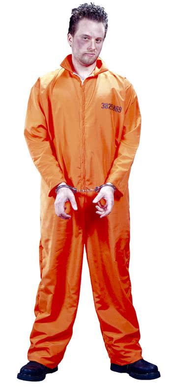 US Prisoner Costume XL   Convict Costume   prisoner costume ...
