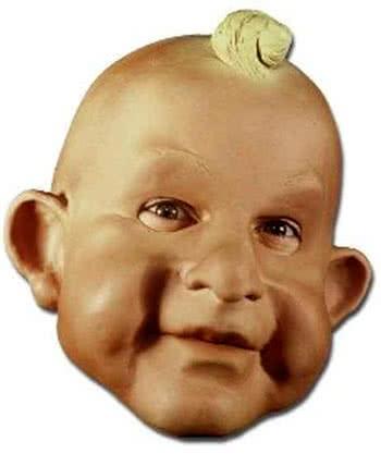 Baby Face Foam Latex Mask