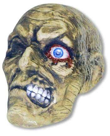 Verrottender Zombieschädel Andrew