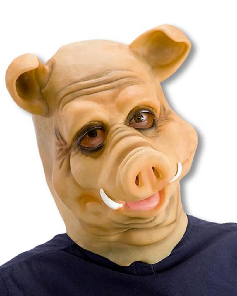 Boar Latex Mask