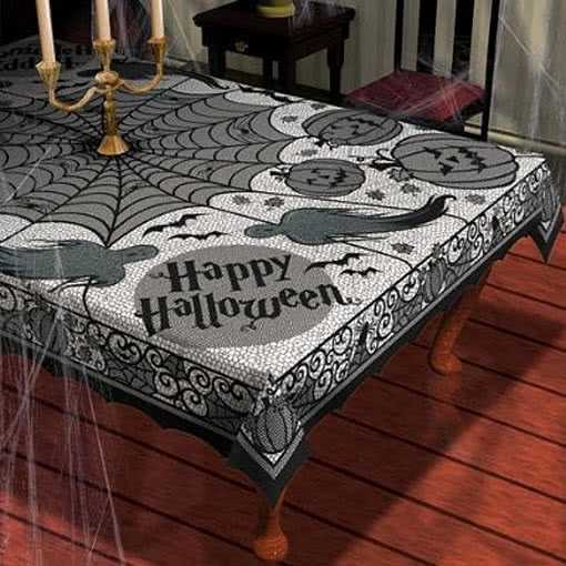 Halloween Table Cloth targettablecloth Halloween Tablecloth Deluxe