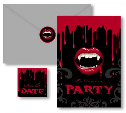 halloween einladungskarten – cloudhash, Einladungsentwurf