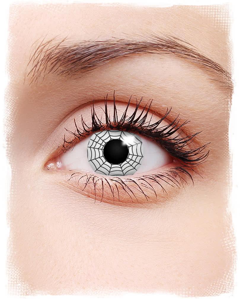 Cobweb contact lens