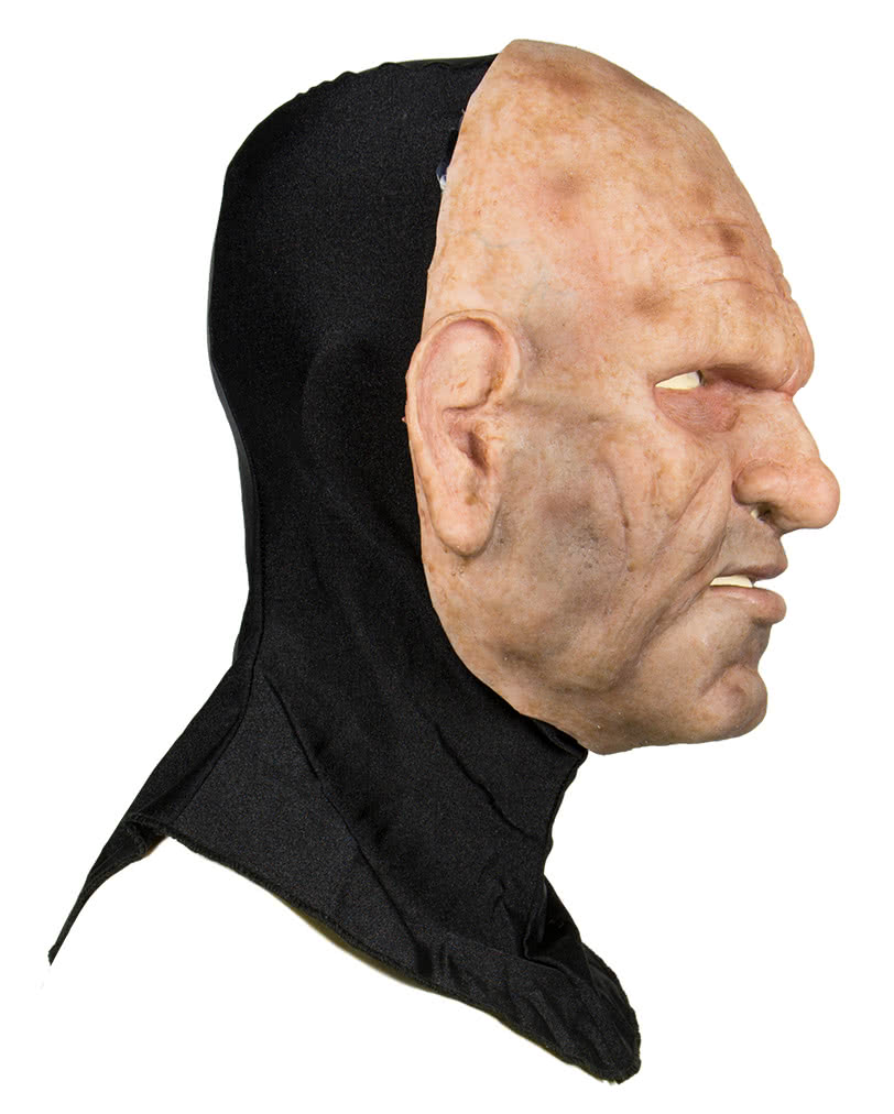 Silicone Half Mask Old Man - Opa mask made of silicone | horror ...