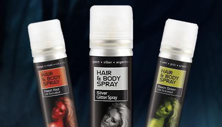Hairspray & Haircolor