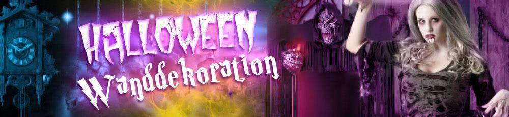 Halloween Wanddekoration