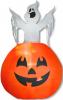 Ghost in Pumpkin Aufblasfigur
