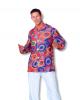 70s Hippie Shirt Psychedelic Plus Size XXL