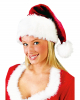 Deluxe Santa Hat of plush