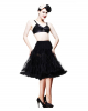 Black Petticoat Long XS - M