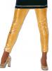 Leggins Gold Glanzoptik XXL /44
