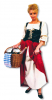 Market Woman Costume L/XL 40-42