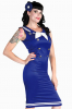 Matrosen Pin-up Kleid L L / 40
