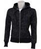 Black Skull Zipper Jacket Gr. XS