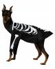 Skelett Hundekostüm