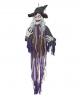 Sprechende Hexe Halloween Hängefigur 160 cm
