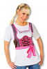 "T-Shirt ""Dirndl"" 42 XL / 42"
