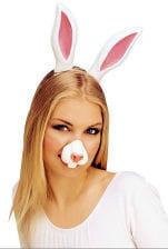 Kaninchen Nase