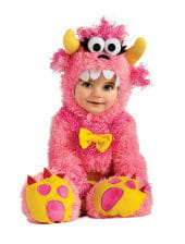 Pink Mini Monster Babykostüm