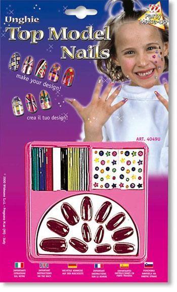 Kinder Design Nu00e4gel Weinrot Kostu00fcm Accessiores Fu00fcr Kinder | Horror-shop.com