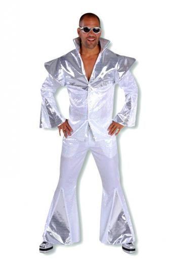 disco man kost m 60er jahre party anzug pailletten. Black Bedroom Furniture Sets. Home Design Ideas