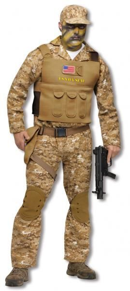 navy seal costume soldier uniform. Black Bedroom Furniture Sets. Home Design Ideas