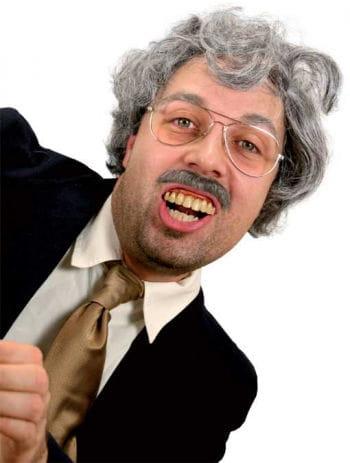 Reporter joke teeth