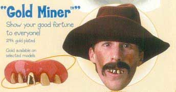 Gold Digger Dentures