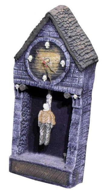 Halloween Uhr / Hangman Clock