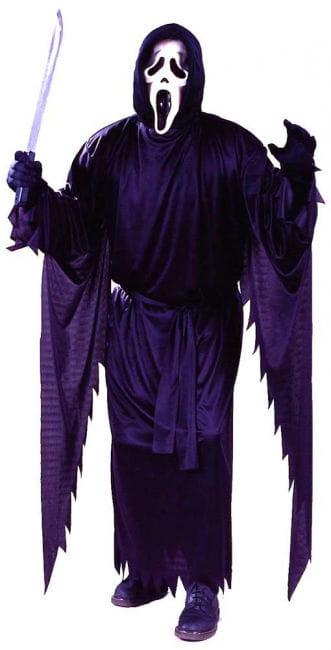 Scream Kostüm mit Maske
