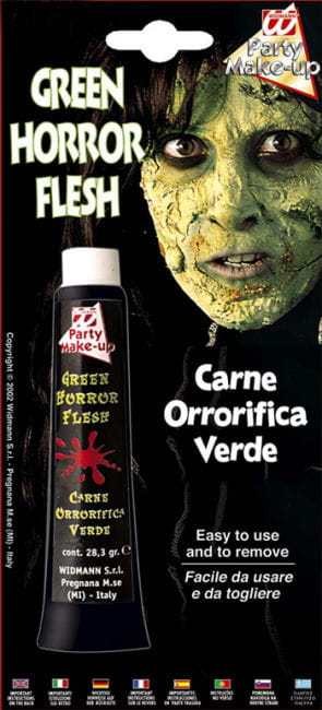 Horror Flesh Grün Make Up