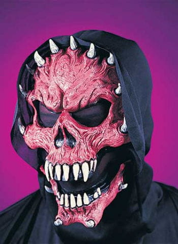 Evil Demon Mask Red
