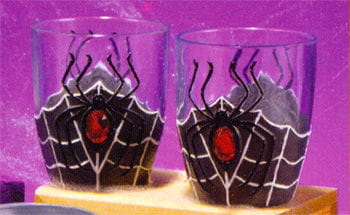 Halloween Shot Glasses Spider