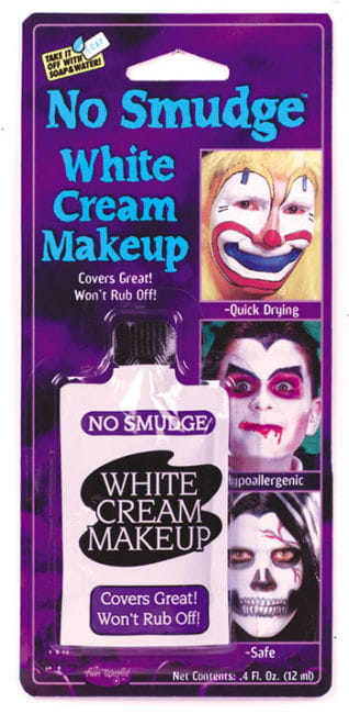 Cream Make Up Smear White