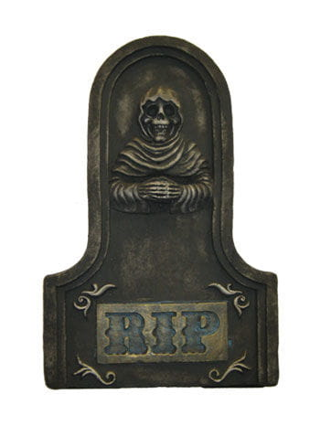 Grabstein Kupfer Grim Reaper