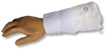 Krabbelnder Arm eiskaltes Händchen