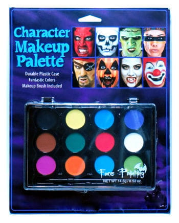 Make Up Palette 12 farbig