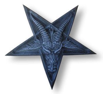 Pentagram with Baphomet