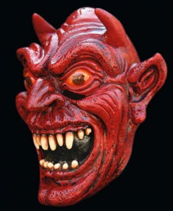 Satin Devil Mask