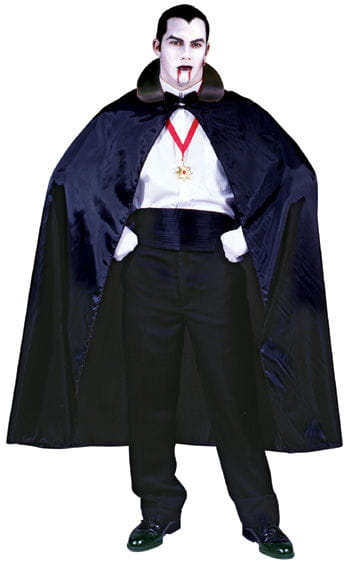 Dracula cape black collar