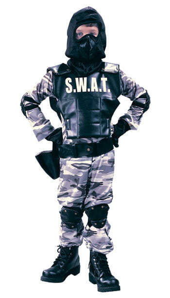 Child SWAT Police Costume Size S