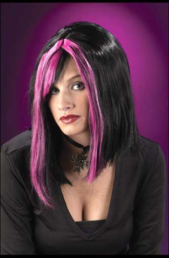 Gothic Wig Pink