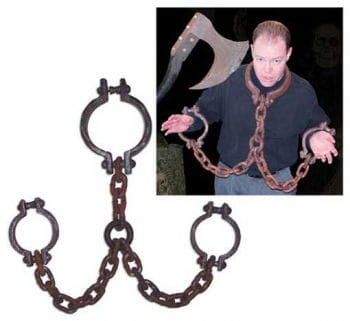 Rusty Old Pillory Chain