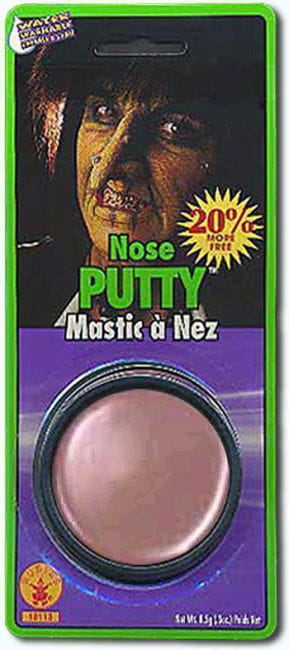 Nose wax makeup effect
