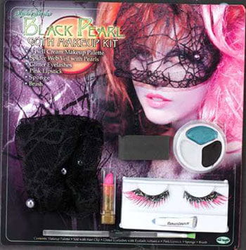 Black Pearl Fairy Makeup Set