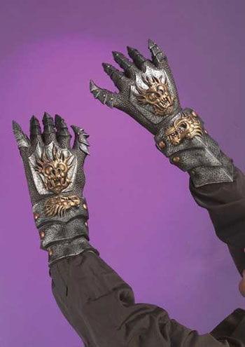 Armour Gloves Dragon Demon