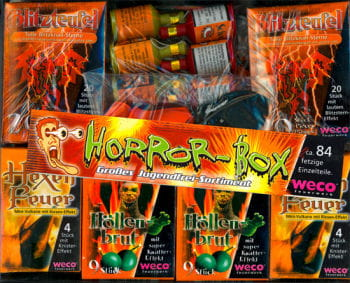 Horror Box 84 pieces