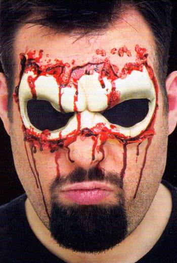 Totenschädel Augen Wunde