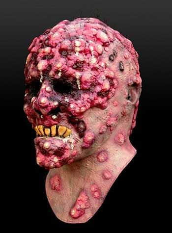 Plague Victim Bob Verruga Mask