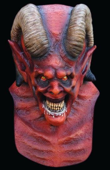 Gehörnter Teufel Maske